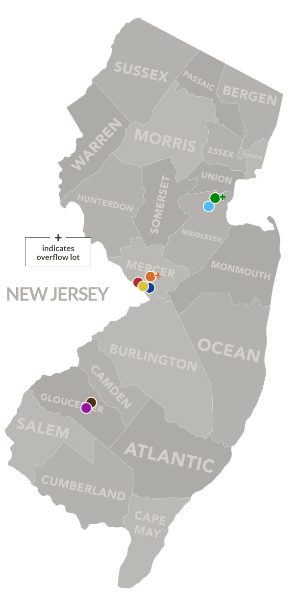 New Jersey Map Locations
